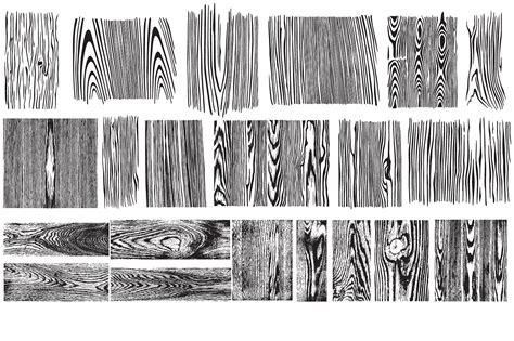 pattern vector illustrator wood wood grain vector pack illustrations creative market
