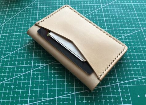 leather wallet pattern free download bifold card wallet pattern pdf leathercove