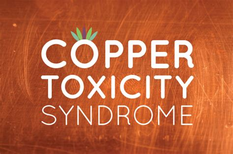 Copper Detox Diarrhea by Copper Toxicity Liveto110