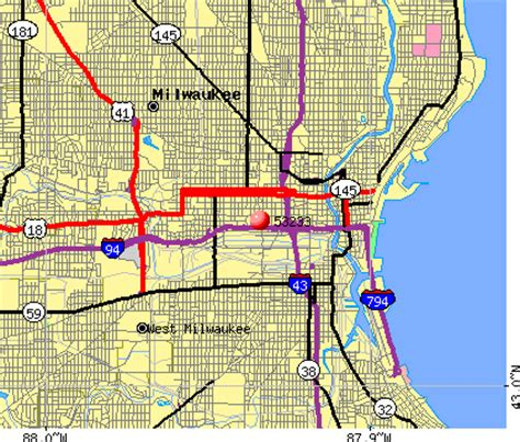 zip code map milwaukee milwaukee wi zip code map bnhspine com
