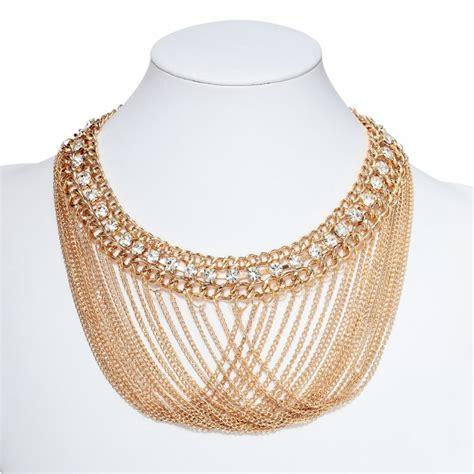 gold chain choker necklace by choker statement necklaces gold link chain necklaces drape