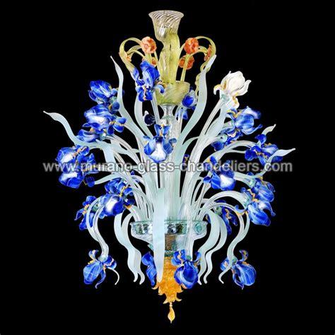 kronleuchter bunt glas quot iris quot lustre en verre de murano murano glass