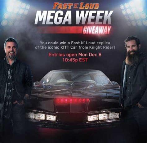 Fast N Loud Giveaway - fast n loud mega week giveaway fastnloudgiveaway com sweepstakes pit