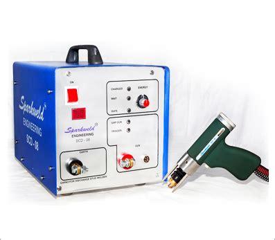 capacitor discharge resistance welding capacitor discharge stud welder manufacturer mumbai india