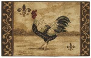 4 X 5 Kitchen Rug Shaw Beige 3x5 Rooster Country Kitchen Scroll Area Rug Approx 2 6 Quot X 4 2 Quot Ebay