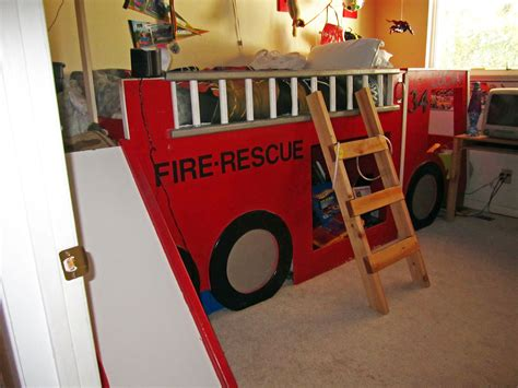 fire truck bed with slide fire truck bed boys bed products i love pinterest