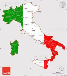 simple map of flag simple map of italy