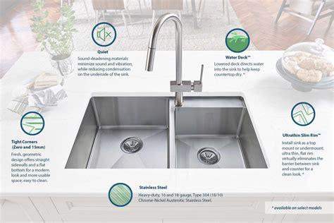 Kitchen Faucets Stainless Steel by Elkay Crosstown Sinks