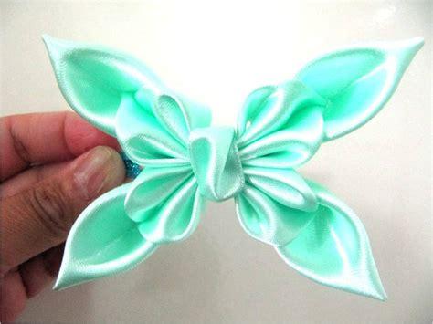 como hacer mo241os de mo 241 os en cintas para el cabello mariposas primaverales