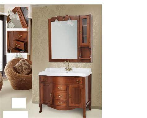 mobili bagno classici legno arredo bagno mobile classico tivoli cm 103 legno massello