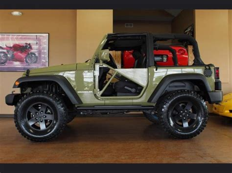 jeep wrangler custom 2 door 2013 jeep wrangler sport automatic 2 door 35 quot tires custom