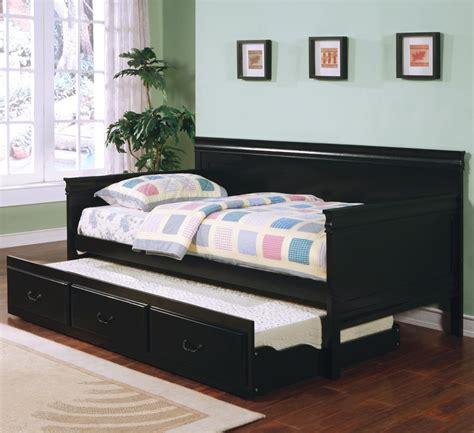 black trundle bed palestine black daybed and trundle daybeds
