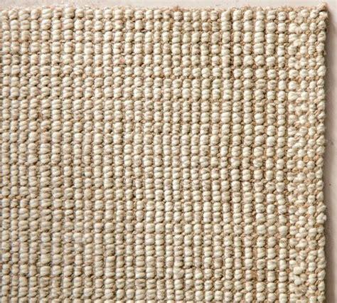 Pottery Barn Chunky Wool Jute Rug Natural Chunky Pottery Barn Wool Rug