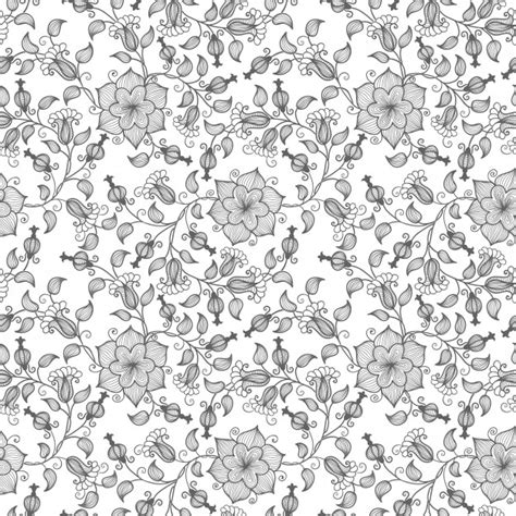floral texture pattern vector vector flower seamless pattern background elegant texture