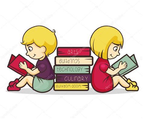imagenes de niños jugando y leyendo ni 241 os leyendo libros vector de stock 169 veronichka 76019953
