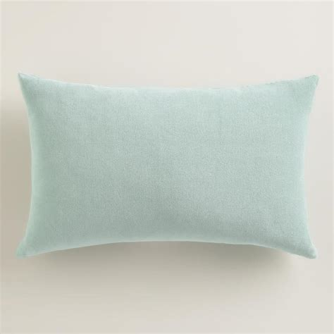 Blue Lumbar Pillow by Blue Velvet Lumbar Pillow