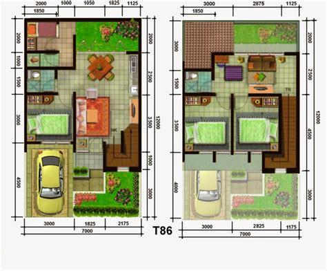 desain rumah minimalis ukuran 6x15 desain rumah minimalis 2 lantai 7x12 model rumah unik