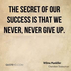 secret we the never give up quotes page 1 quotehd