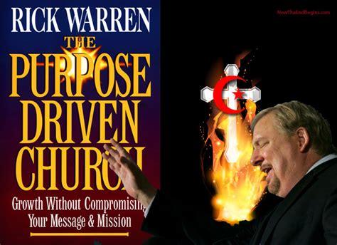 Exceptional Chrislam Churches In America #2: Rick-warren-chrislam-purpose-driven-church-life-cfr-deceiver-false-prophet.jpg