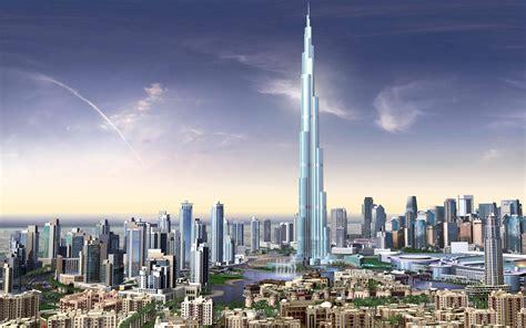 In Dubai Burj Dubai Skyscrapers Uae Wallpapers Hd Wallpapers