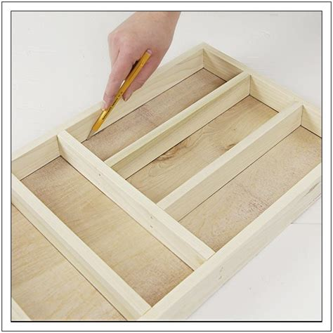 Build Drawer Dividers by Diy And Crafts Organizers And Drawers On