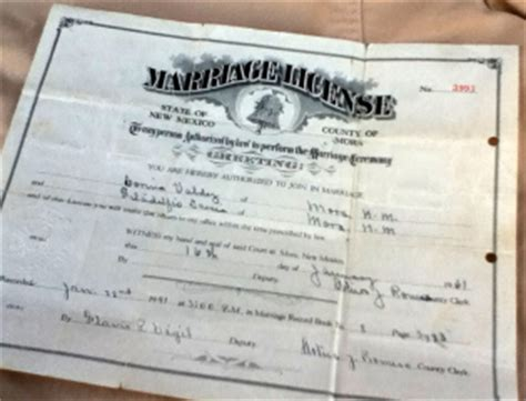 Marriage Records New Mexico New Mexico Marriage Certificate