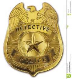 detective police badge stock images image 14931274