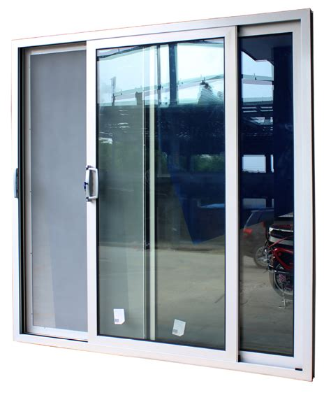 Glass Door Supplier China Supplier High Quality Sliding Design Glass Door With Lock And Flynet With Australian