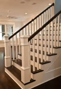 Home Banisters Craftsman Staircase Transitional Staircase Houston