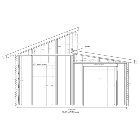 Shed Roof Plan by Shed Plans Vipshed Roof Plans Storage Shed Plans Your