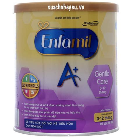 Enfamil Gentle Care sữa enfamil a gentle care hộp 400g mead johnson suachobeyeu vn