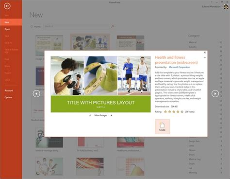 powerpoint 2013 template gallery