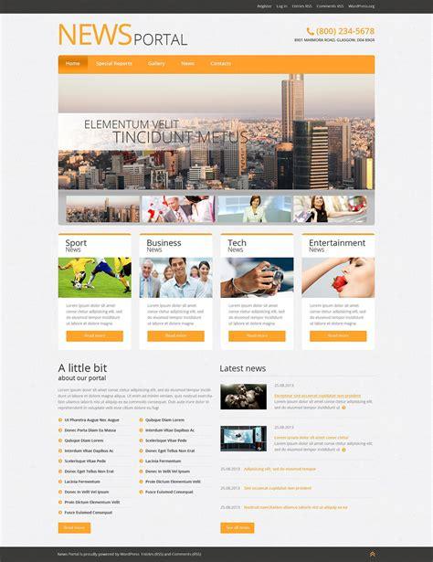 modelo de blog wordpress portal de not 237 cias by lm designs