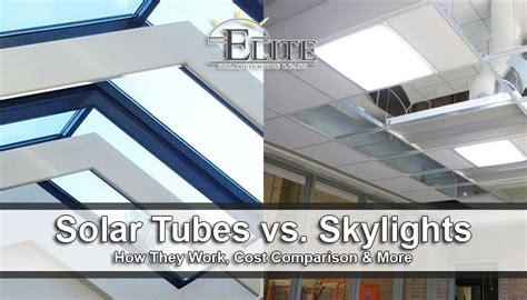solar light vs skylights solar vs skylights how they work cost comparison