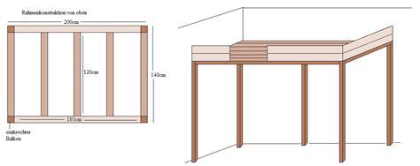 Wie Baue Ich Ein Hochbett Selber by Bauanleitung Hochbett 187 Bauplan