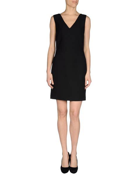 Dress Mini 311 lyst prada dress in black