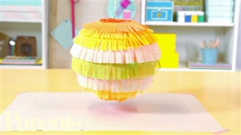 How To Make A Lantern Out Of Paper - crepe paper crafts