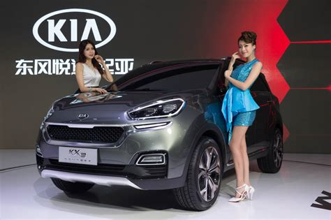 Kia Baby Kia Kx3 Baby Suv Outed In China Photos 1 Of 3