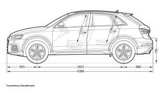 Audi Q2 Dimensions Wymiary Gt Audi