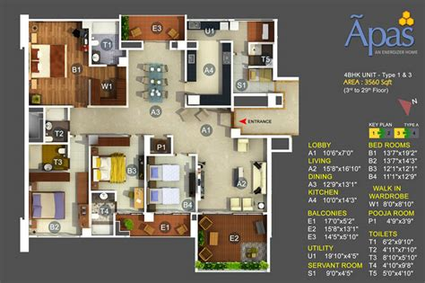 home plan design 4 bhk 5 4 bhk high end luxury apartments bannerghatta road
