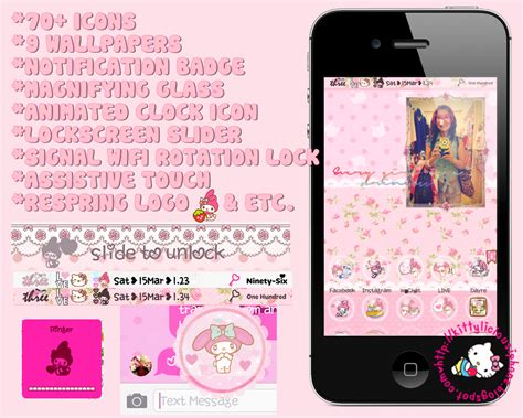 theme hello kitty cydia ios 7 kittylicious