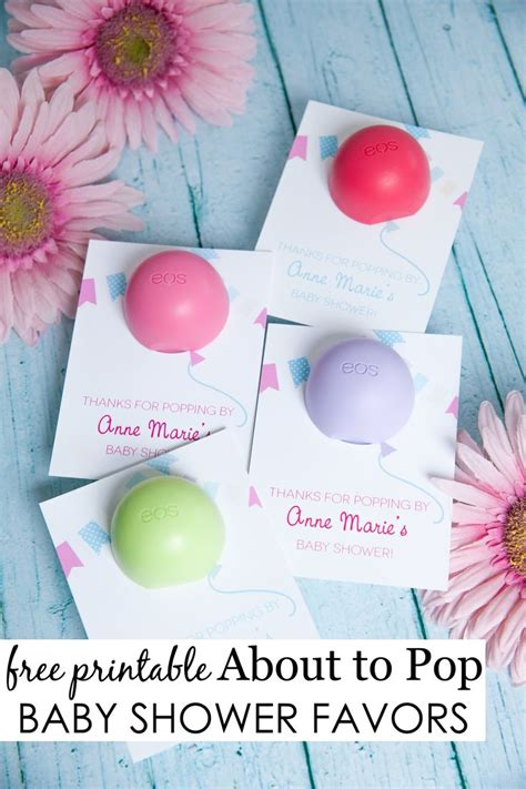 eos template for baby shower favors about to pop baby shower favor pop baby showers party