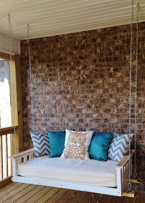 diy porch swing bed 13 dreamy diy porch swing bed ideas chuckiesblog