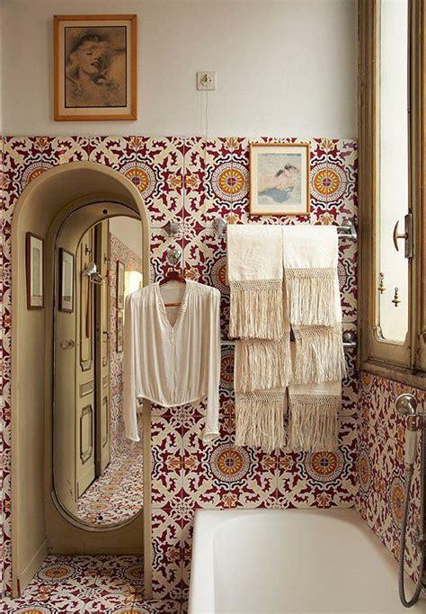 bohemian style bathroom modern bohemian in the bathroom pivotech