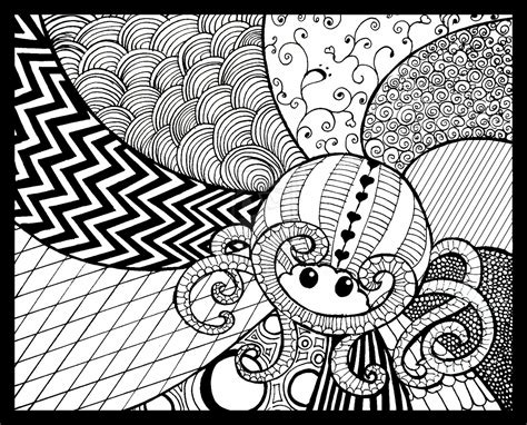Drawing Zentangle by Zentangle By Kayleighmc On Deviantart