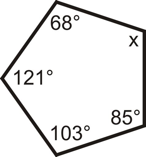 Find The Sum Of The Interior Angle Measures Of A Regular Hexagon