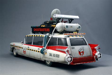 Starsky And Hutch Movie Car 1 25 Ghostbusters Ecto 1a Model Kit Amt750m Amt