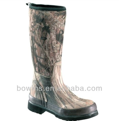 wholesale waterproof camouflage rubber boots buy