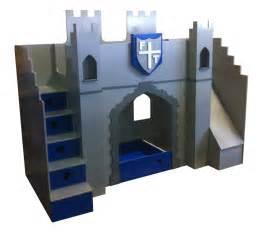 Novelty Bunk Bed Castle Bed Designer Beds Childrens Castle Bed