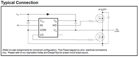 bootstrap transistor driver h bridge is a bootstrap capacitors always required for mosfet drivers electrical
